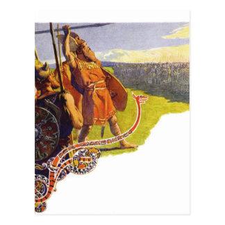 Aesir and Vanir Postcard