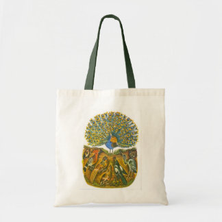 Aesop s fables the peacock and the birds canvas bag