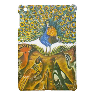 Aesop s fables the peacock and the birds iPad mini case