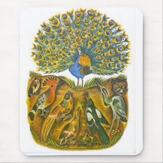 Aesop s fables the peacock and the birds mouse pads