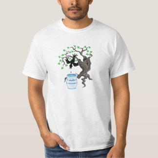 Aesop's Fable, The Crow and the Pitcher T-Shirt