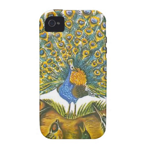 Aesop's fables, the peacock and the birds Case-Mate iPhone 4 case