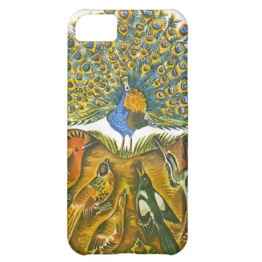 Aesop's fables, the peacock and the birds iPhone 5C cover