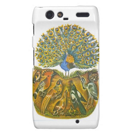 Aesop's fables, the peacock and the birds droid RAZR case