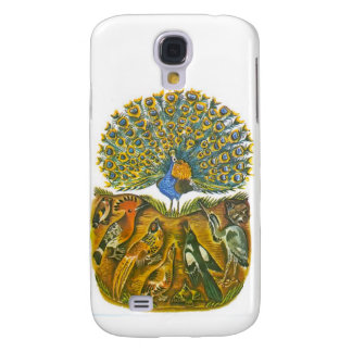 Aesop's fables, the peacock and the birds samsung galaxy s4 case