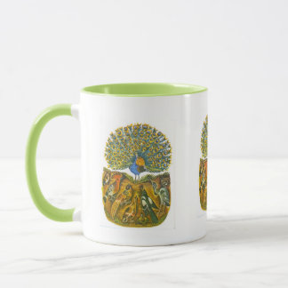 Aesop's fables, the peacock and the birds mug