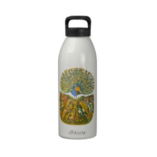 Aesop's fables, the peacock and the birds water bottle