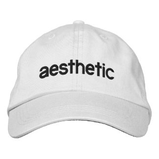 Aesthetic embroidered hat