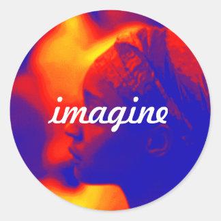 Aesthetic Imagine Sticker
