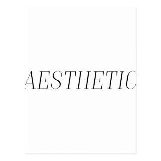 Aesthetic Postcard
