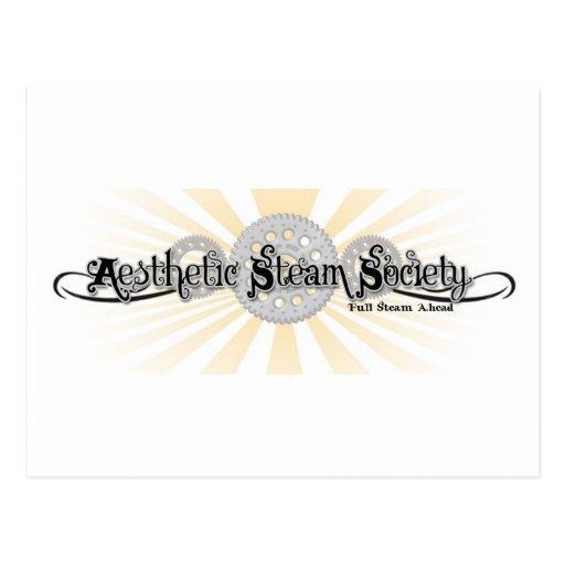 Aesthetic Steam Society Postcard