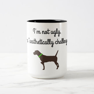 """Aesthetically Challenged"" Pudelpointer Coffee Mug"