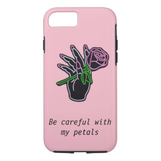 Aesthetically Pleasing iPhone Rose Case