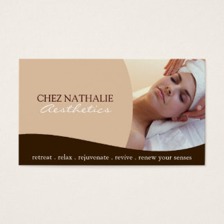 Aesthetician ~ Business Card