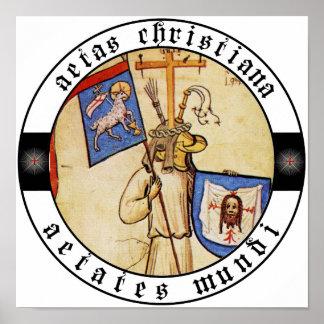 Aetates Mundi poster in the name of God