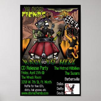 AF CD Release Poster