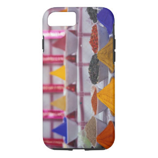 AF, Egypt, Aswan, Colorful spices in market. iPhone 7 Case