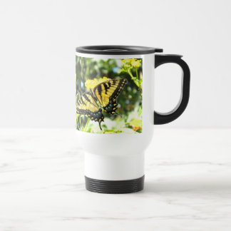 AF- Yellow Butterfly Travel Mug