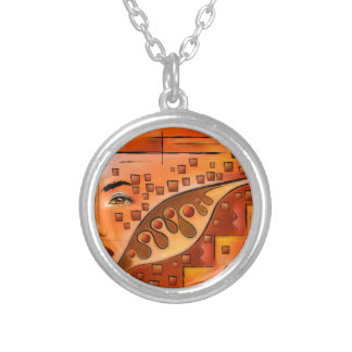 Afanassimi V1 - the vision Silver Plated Necklace