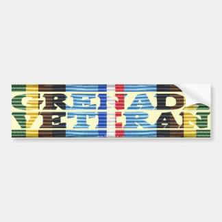 AFEM Veteran GRENADA VETERAN Bumper Sticker