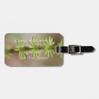 AFF Alaskan Forest Foliage Bag Tag