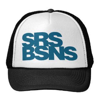 Affaires sérieuses - bleu casquette de camionneur