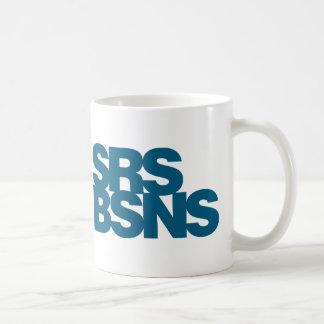 Affaires sérieuses - bleu mugs