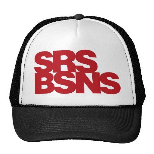 Affaires sérieuses - rouge casquettes de camionneur