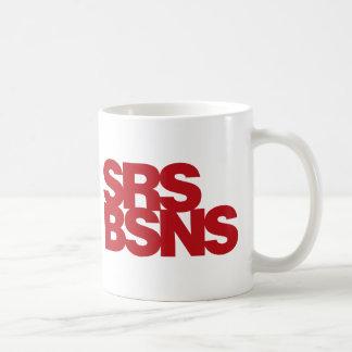 Affaires sérieuses - rouge mug à café