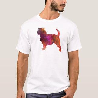 Affenpinscher 01 in watercolor 2 T-Shirt