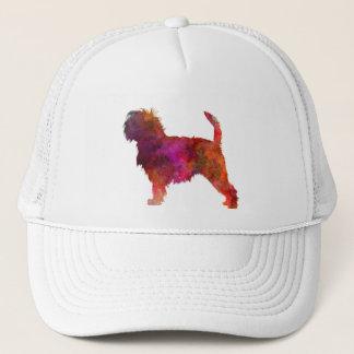 Affenpinscher 01 in watercolor 2 trucker hat