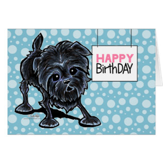 Affenpinscher at Play Card