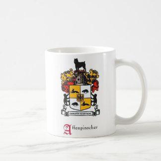 Affenpinscher Coat of Arms Coffee Mug