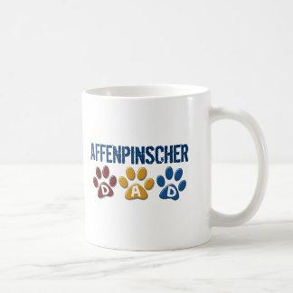 AFFENPINSCHER DAD Paw Print Coffee Mug