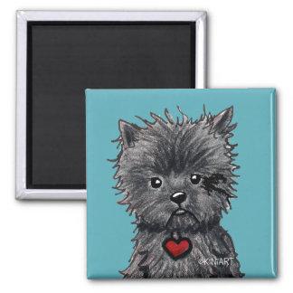 Affenpinscher Dog Art Magnet