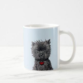 Affenpinscher Dog Art Mug
