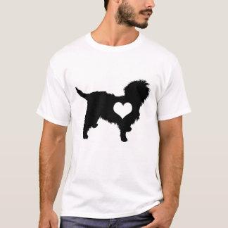 Affenpinscher Heart Mens T-Shirt