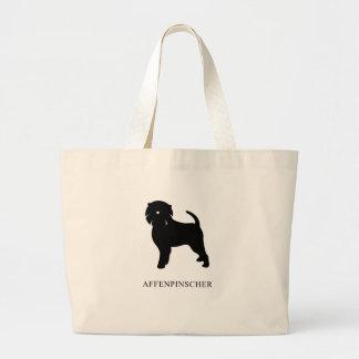 Affenpinscher Large Tote Bag