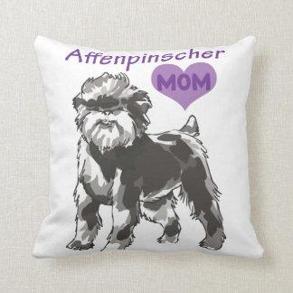 Affenpinscher mom pillow