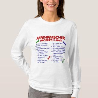 AFFENPINSCHER Property Laws 2 T-Shirt