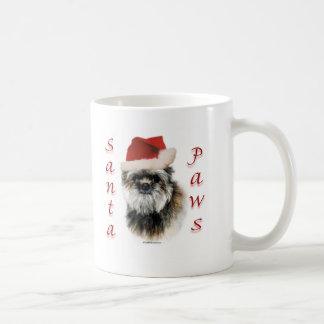 Affenpinscher Santa Paws Coffee Mug