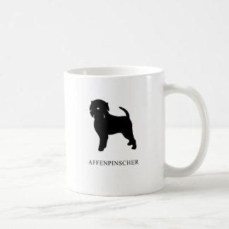Affenpinscher Silhouette Coffee Mug