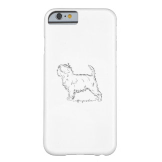 Affenpinscher sketch barely there iPhone 6 case