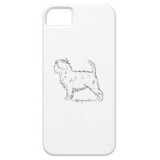 Affenpinscher sketch iPhone 5 case