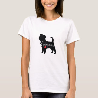Affenpinscher with Heart Dog Breed Puppy Love T-Shirt