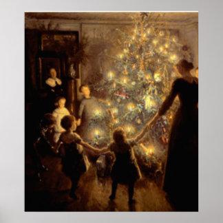 Affiche 1891 silencieuse de nuit