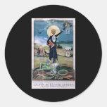 Affiche Absinthe Round Sticker