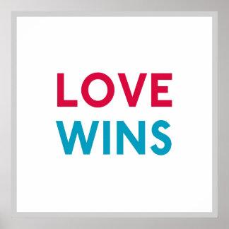 Affiche carrée de Momastery de victoires d'amour