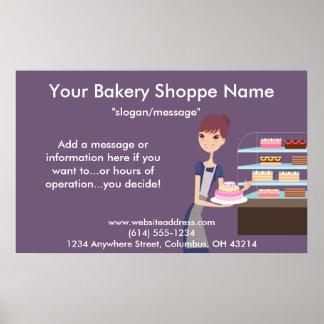 Affiche/copie de boulangerie/magasin de pâtisserie poster