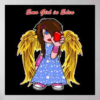 Affiche/copie :  Fille d'Emo dans Éden